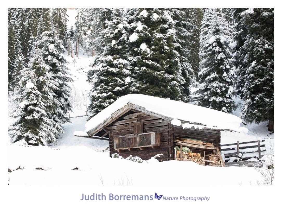 Sneeuw in Fugen