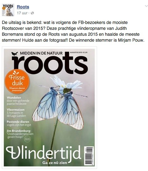 29-12-2015 Mooiste Cover Roots In 2015